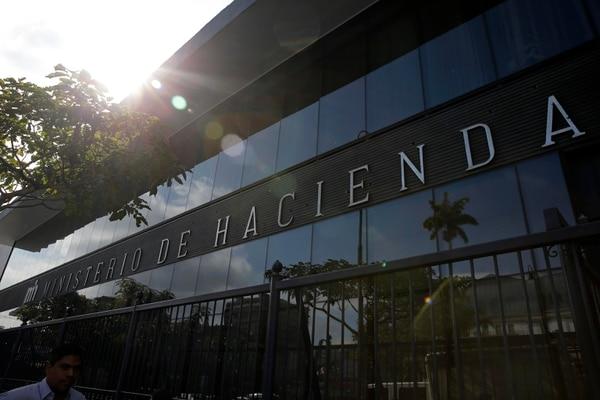 Fachada del Ministerio de Hacienda, sobre avenida segunda, en San José. El beneficio de la amnistía tributaria, creado en la reforma fiscal, finalizará el próximo 4 de marzo. Foto: Mayela López