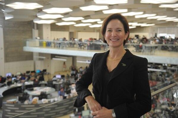 Dyalá Jiménez, ministra de Comercio Exterior (Comex) y coordinadora del proceso de adhesión a la OCDE. Foto: Marvin Caravaca