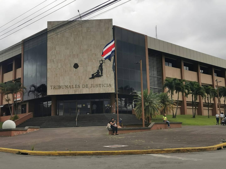 La condena se dictó en los Tribunales de Pococí, por un hecho ocurrido en mayo del año pasado. Foto: Reiner Montero.