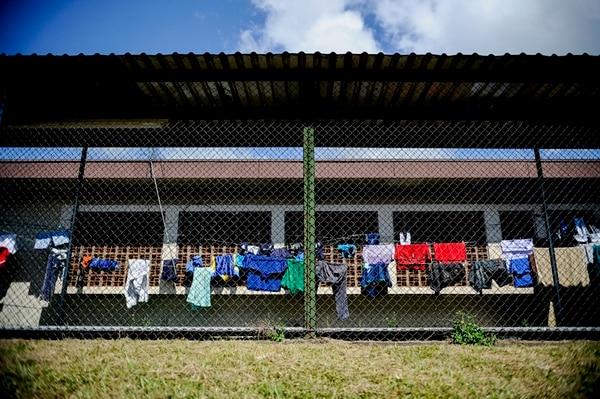 Hasta este viernes, 49 menores estaban recluidos en la cárcel Centro de Formación Juvenil Zurquí, en San Luis de Santo Domingo de Heredia.   MARCELA BERTOZZI