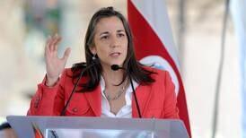 Primera dama Mercedes Peñas obtiene nacionalidad costarricense