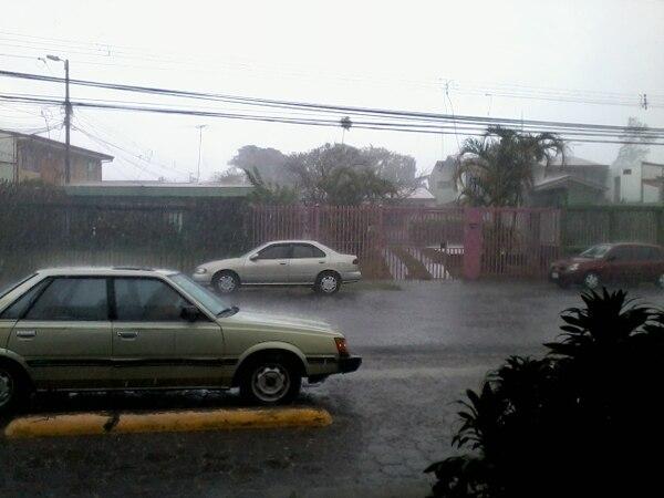 Esta tarde volverán las llvuas en el Pacífico y ciertos sectores del Valle Central, según el IMN.Foto: H. Solano.