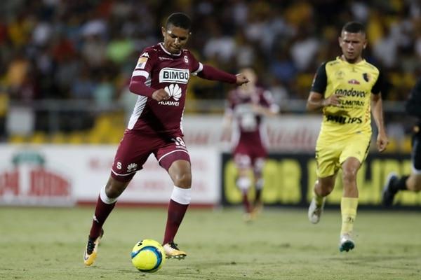 Randy Chirino tiene 22 años y ya jugó en dos partidos del Clausura con el Monstruo. Fotografía José Cordero