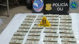 Chofer con ¢136 millones ocultos en 'pickup' capturado en persecución policial