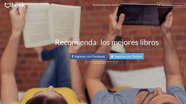 Los usuarios de redes sociales como Twitter y Facebook pueden acceder a Beek.