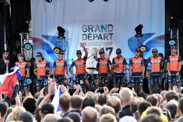 El Bahrain Mérida correrá el Tour sin Vincenzo Nibali.