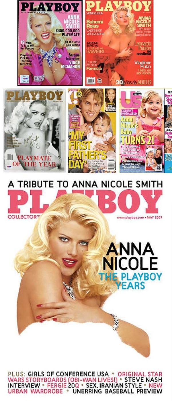 La voluptuosa Anna Nicole, de origen texano, posó por primera vez para Playboy en 1992, a los 25 años y bajo el seudónimo de Vicky Smith. En adelante, se convertiría en una de las 'playmate' más famosas: de ahí saltó al estrellato y a todo lo que vino después.   Fotos: Archivo