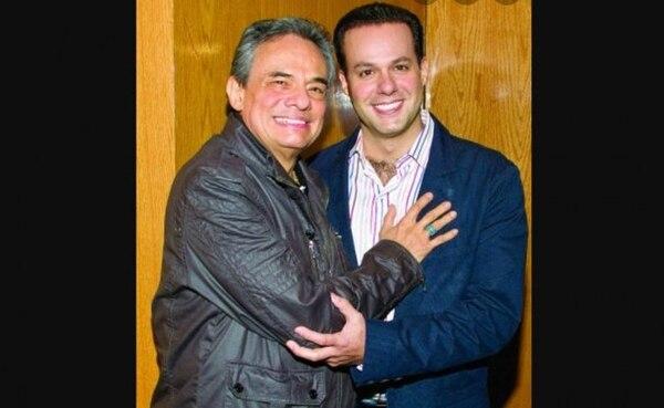 José José junto a su hijo José Joel. Foto: Archivo.