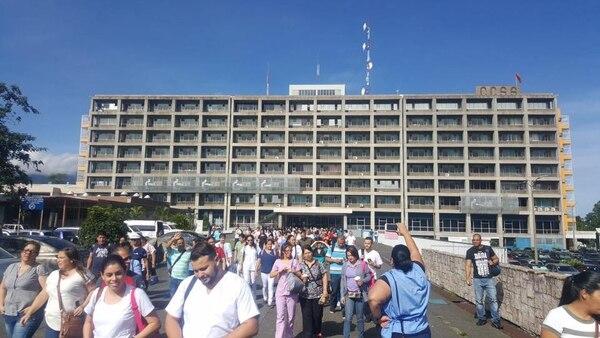 Los servicios de consulta externa en el Hospital México se han visto afectados en un 80%.