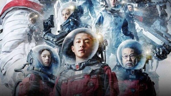 El filme más taquillero en China con Avengers, está a la mano. Foto: Netflix / La tierra errante
