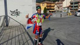 Ultramaratonista tico fue el hombre más combativo en Madrid