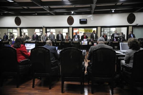 El plenario sigue sin agenda de proyectos de consenso casi un mes después del inicio del periodo de sesiones ordinarias. Lo mismo ocurrió durante las anteriores ordinarias, de mayo a julio pasado.