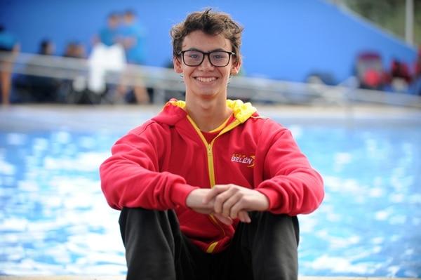 Julio Pérez es uno de los competidores belemitas que disputará el Mundial Junior de natación en Budapest, Hungría. Foto de Jorge Castillo