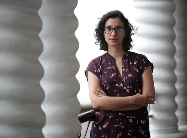 María José Chavarría Zamora, curadora del Museo de Arte Costarricense, expresó que este tipo de concursos sirve como punto de encuentro para nuevos artistas y públicos. Fotografía: John Durán