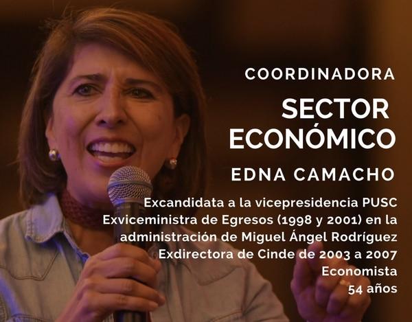 Edna Camacho.