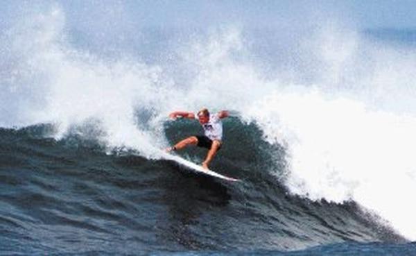 Noe Mar McGonagle obtuvo ayer su mejor puntaje: 9,44. | FED. DE SURF