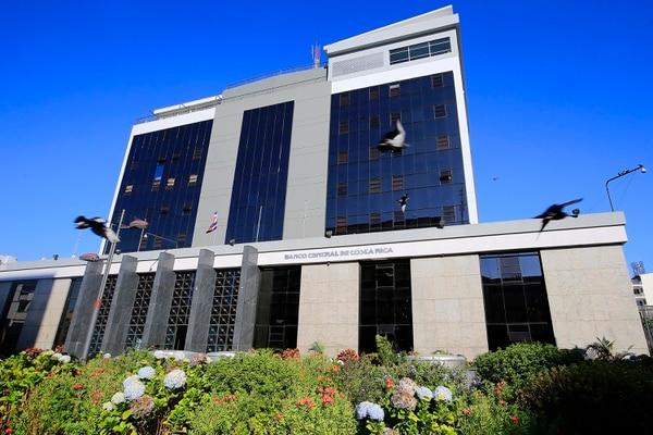 18/01/2019 San José. Banco Central de Costa Rica, fachada. Foto: Rafael Pacheco