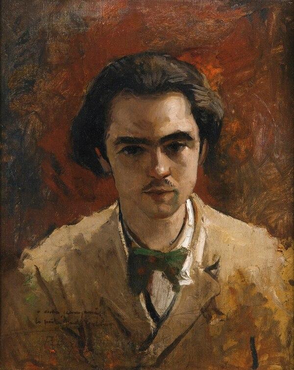 Retrato de Paul Verlaine, 1867, óleo, Frédéric Bazille.