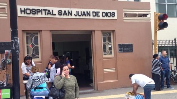 Ambas víctimas murieron minutos después de su ingreso al hospital San Juan de Dios.