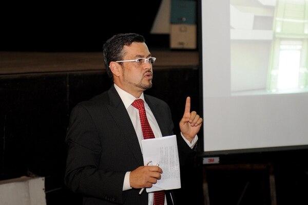 Max Valverde, viceministro de Cultura. Fotos Melissa Fernández Silva