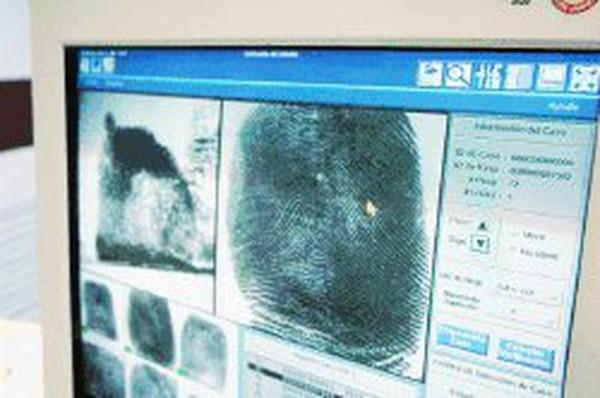 Las huellas dactilares es información confidencial, según la resolución de los magistrados mexicanos.