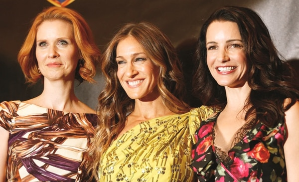 Miranda, Carrie y Charlotte volverán a tener aventuras juntas, pero sin duda la ausencia de Samantha dejará un gran vacío. Foto: GDA