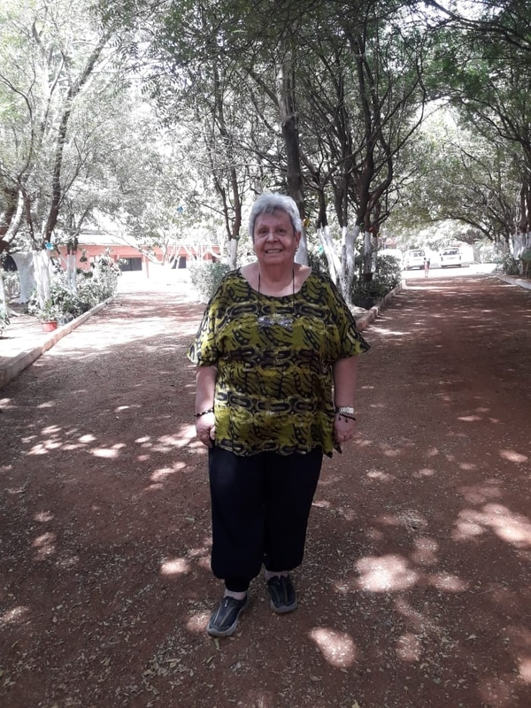 Isabel Johhaning, directora de Casa Emanuel y del centro de rehabilitación Casulo en Guinea Bisáu. Foto: Isabel J para LN