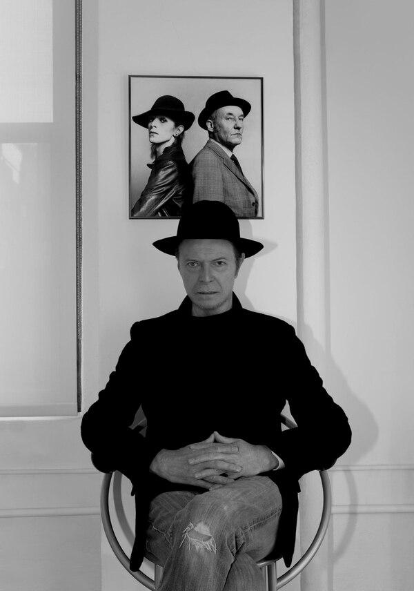 Imagen promocional de David Bowie de cara al lanzamiento de su más reciente álbum, 'The Next Day'.