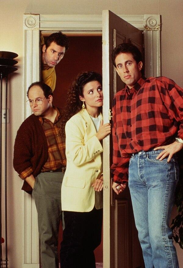La puera del apartamento de Jerry Seinfield fue protagonista en la mayoría de las escenas. | SONY PARA LN.