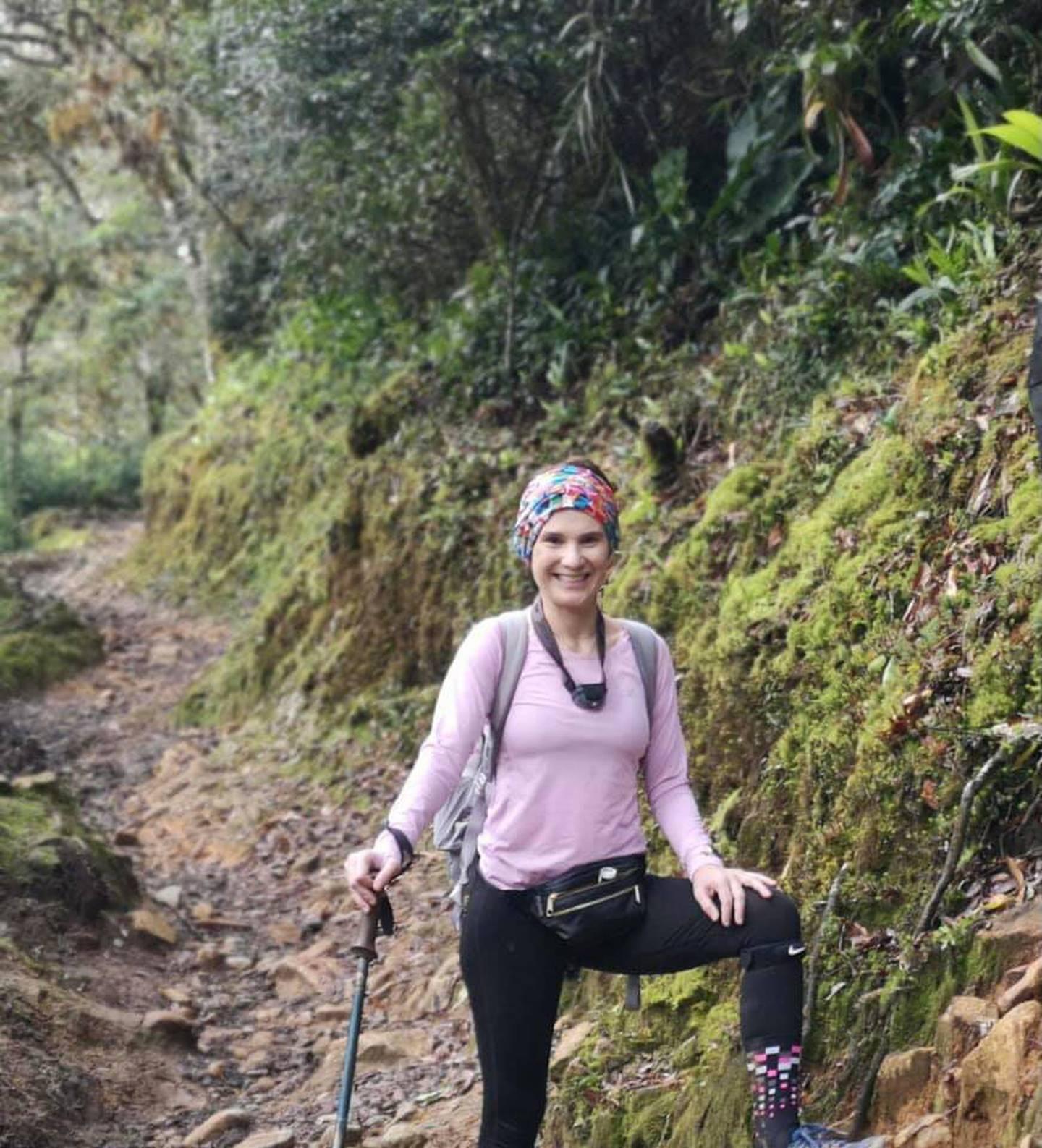 La familia de Marialis Vega, la mujer extraviada cerca del Chirripo, espera que su experiencia como montañista le ayude a salir bien de este trance. Foto: Facebook.