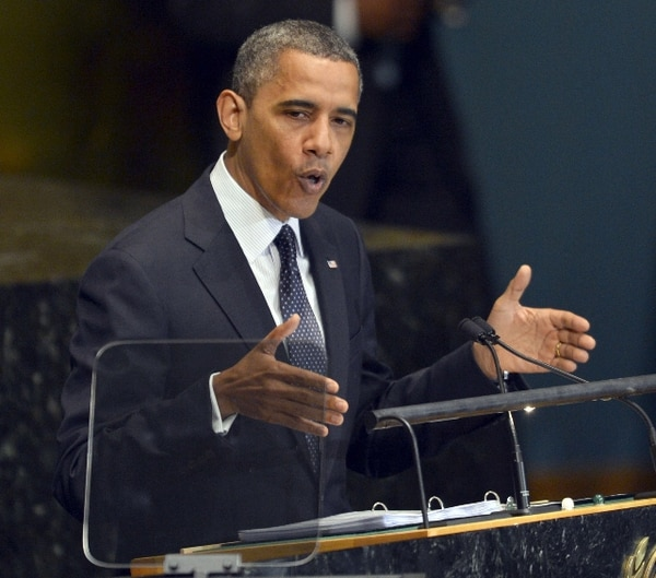 Obama condenó el filme islamófobo pero afirmó que la violencia no se justifica.   AFP.