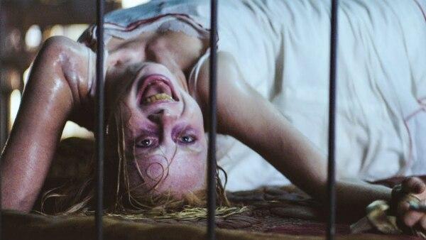 El cuerpo de Hanna Grace no llama a engaños. Su exorcismo fue impactante. Cortesía de Discine