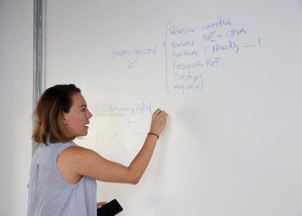 Andrea Obando, directora de la DIEE. Foto: Albert Marín.