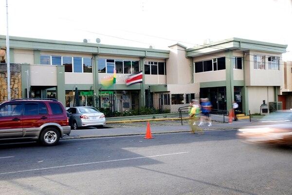 Uno de los puntos donde hubo allanamientos fue la Municipalidad de Santa Ana. Foto: Rafael Pacheco.