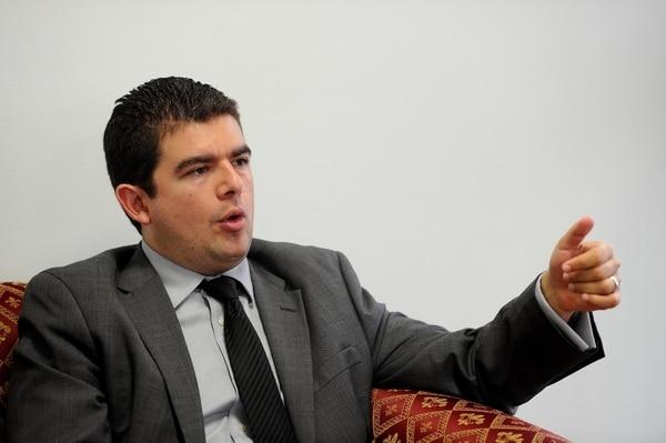 Álvaro Ramos, superintendente de Pensiones. Foto: Melissa Fernández Silva.