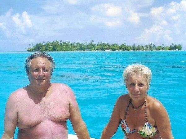 El matrimonio Gerard y Claude Dubois fue visto por última vez el 31 de marzo del 20011 en Quepos. | EMBAJADA DE FRANCIA PARA LN