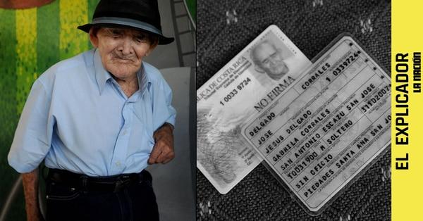 Chepito cumplió oficialmente 121 años el pasado 10 de marzo de 2021. Foto: Melissa Fernández / La Nación.