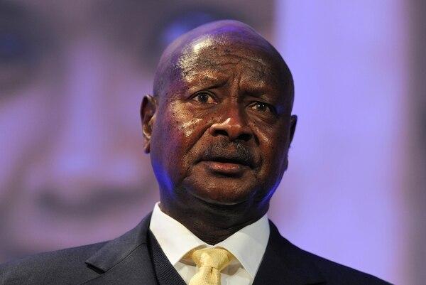 El presidente ugndés, Yoweri Museveni