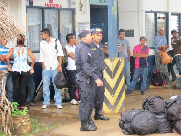 En la zona Norte se detuvo a un importante grupo de extranjeros en condición irregular.