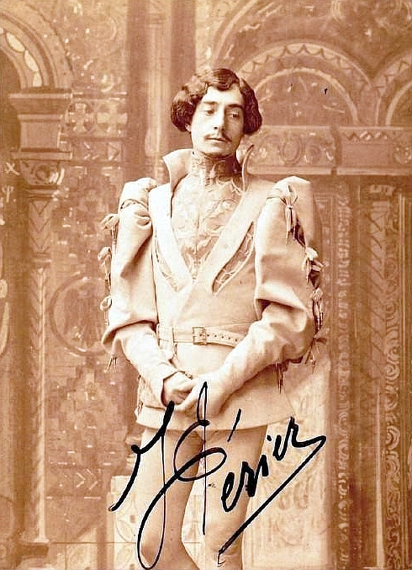 En el papel de Pelléas, de la ópera de Debussy, el barítono francés Jean Périer (1869-1954). Foto: Wikimedia Commons/Biblioteca Nacional de France.