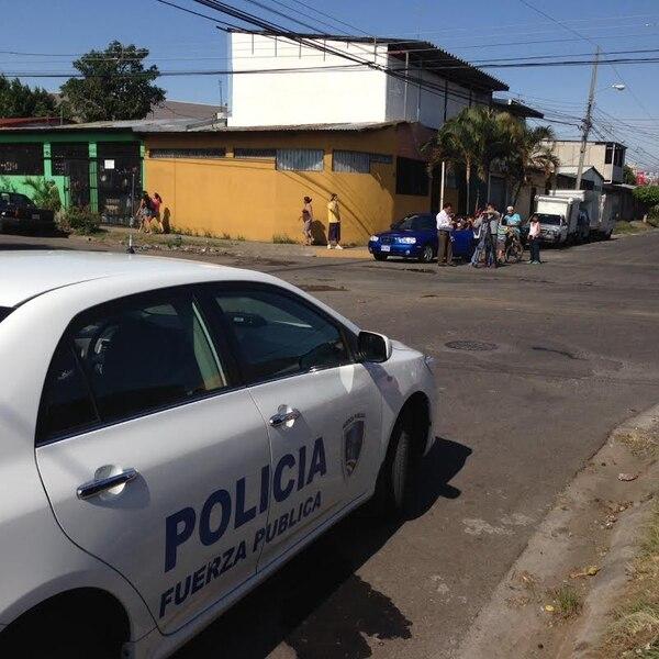 En la zona donde ocurrió el crimen, los vecinos estaban alarmados.