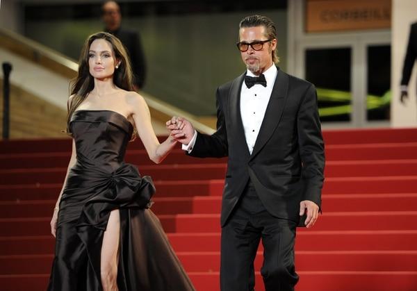 La pareja participó en el Festival de Cannes, en Francia, en el 2011. AFP.