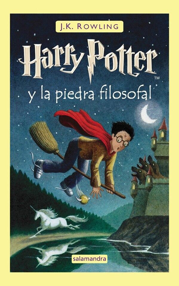 Harry Potter y la piedra filosofal . En español hace referencia directa a la sustancia que tiene el poder de cambiar los metales en oro y producir el elixir de la vida eterna.