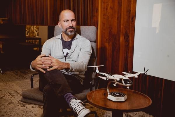 El director ejecutivo de Uber, Dara Khosrowshahi, el 14 de noviembre del 2019 en la sede de esa compañía en San Francisco en una entrevista con 'La Nación'. Este jueves, Khosrowshahi anunciará los resultados financieros del primer trimestre del 2020 / Uber para LN