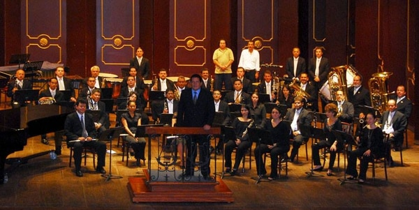 La Banda de Conciertos de San José realizará un homenaje para conmemorar los 84 años de la muerte de Carlos Gardel, la leyenda argentina del tango. Foto del MCJ