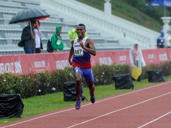 Nery Brenes fue tercero en su heat en los Juegos Centroamericanos y del Caribe Veracruz 2014.