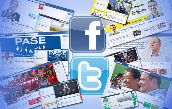 Candidatos presidenciales apuestan para la campaña del 2014 a la tecnología y redes sociales como Facebook y Twitter.