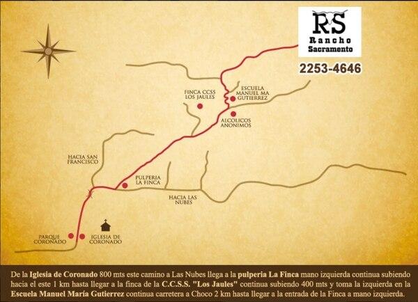 Los interesados en llegar al sitio en Coronado pueden ir en carro sencillo o de doble traccion.