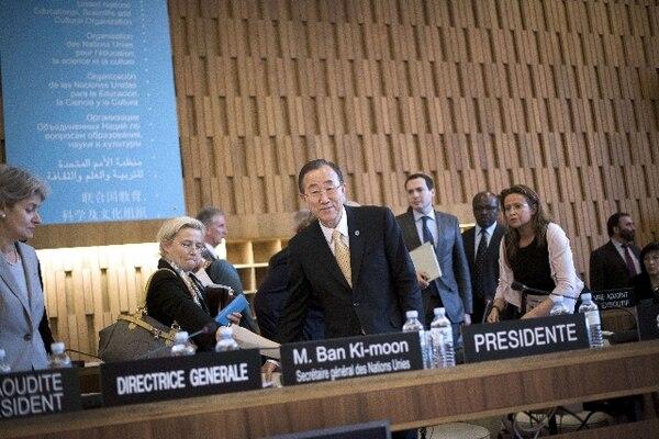 Secretario general de la ONU Ban Ki-moon. | AFP