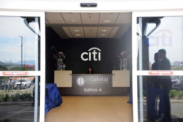 Citi Group amplió su operación de servicios en Costa Rica. Para ello, entre el 2013 y este año, invirtió $35 millones en un nuevo edificio corporativo ubicado en San Antonio de Belén, Heredia. | ARCHIVO / EYLEEN VARGAS